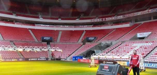 Inside the Stadium of Light  Scott MacCallum visits Sunderland Football Club and learns much of the science of pitch maintenance