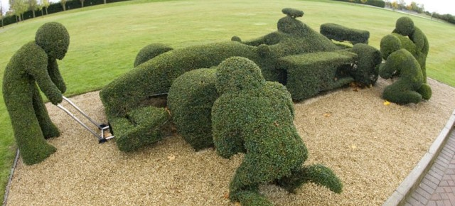 Amazing topiary: in pictures