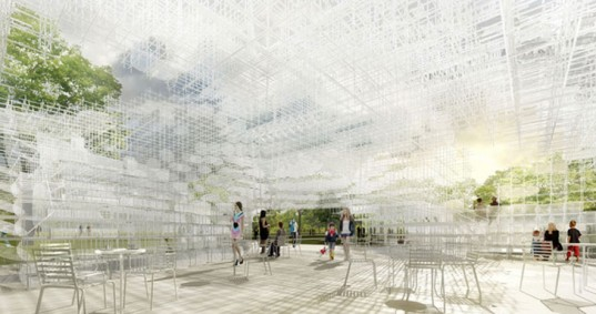 SOU FUJIMOTO UNVEILS PLANS FOR CLOUD-LIKE 2013 SERPENTINE GALLERY PAVILION IN LONDON