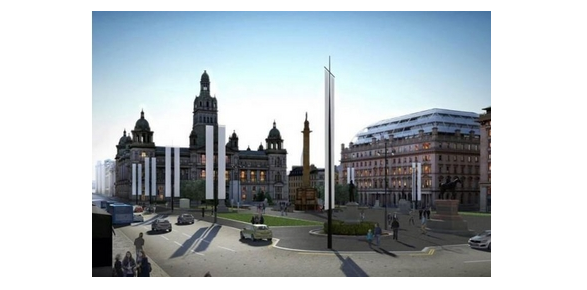 HOW GEORGE SQUARE WILL LOOK FOR 2014 GAMES