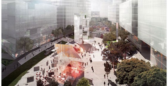 Green Square Town Centre new library and plaza competition winner announced
