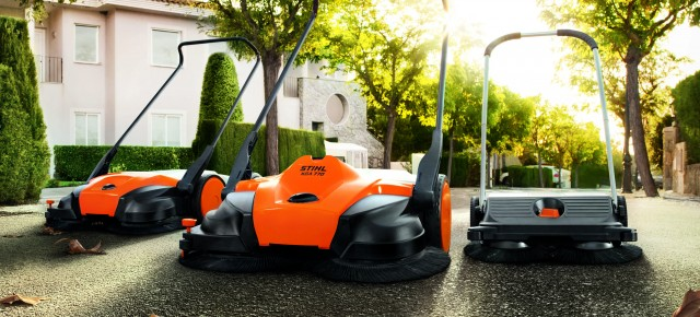 A CLEAN SWEEP FROM STIHL