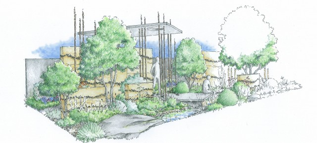 The RHS Chelsea Flower Show gets 'Fresh' with Cloudy Bay's Rough Luxe Style by Wilson McWilliam Studio