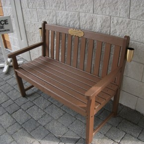 DMMP & CDS JOIN FORCES TO OFFER POLYWOOD BENCH TO THE UK CEMETERY MARKET