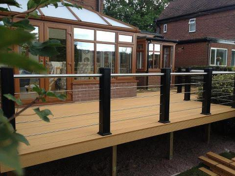 SAiGE Longlife Decking are suppliers of composite decking throughout the UK and Ireland
