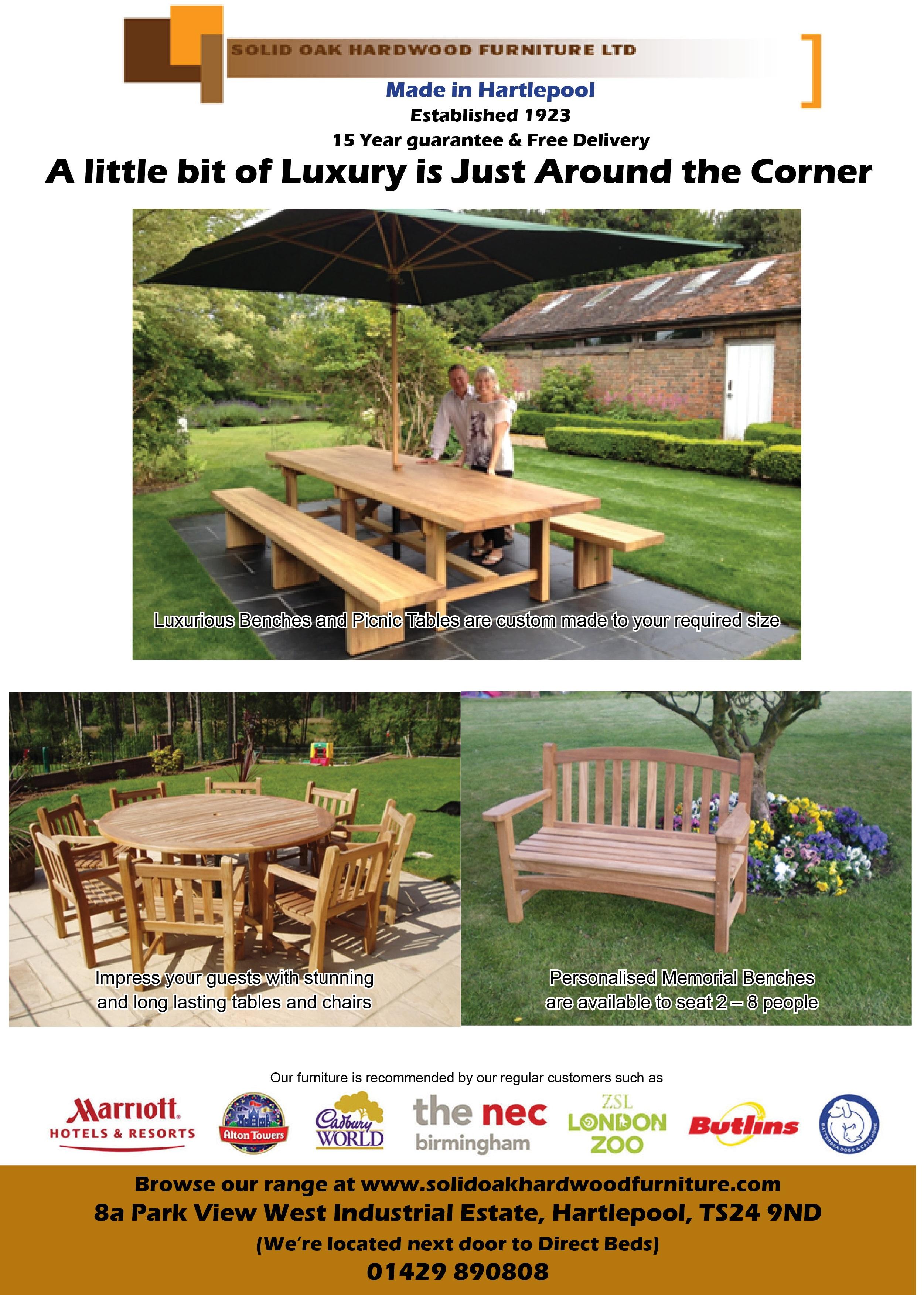 Solid Oak Hardwood Furniture Ltd