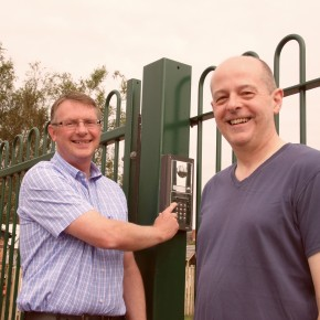 METAL RAILINGS AND AUTOMATED GATES IMPROVE SAFETY FOR SCHOOL