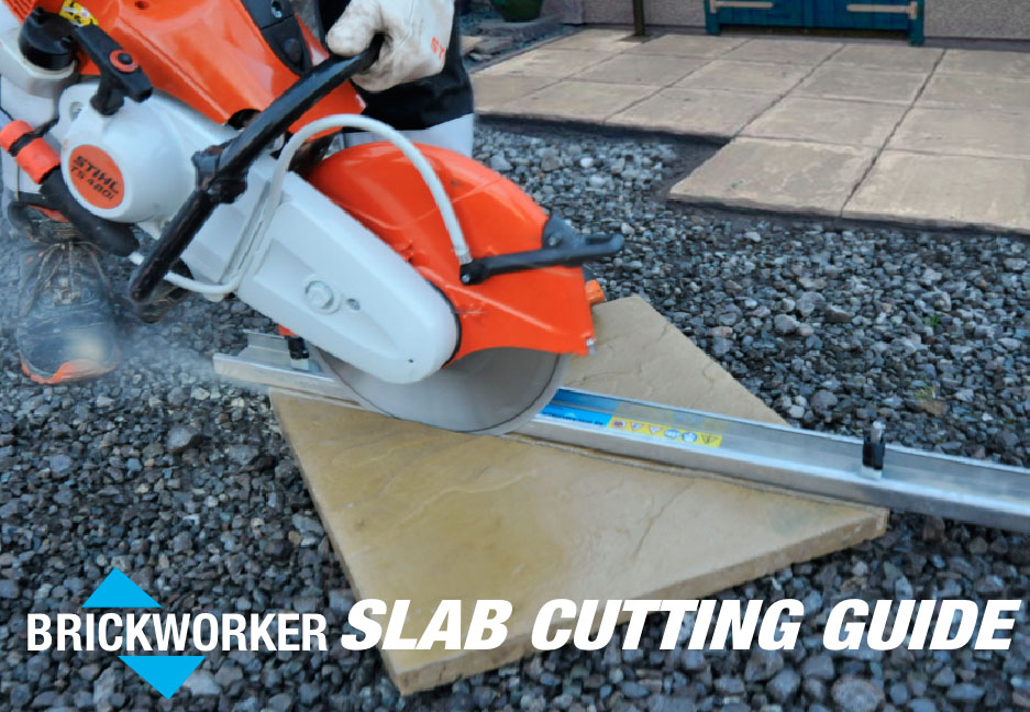 DO YOU USE A PETROL CUT-OFF SAW TO CUT SLABS OR BLOCK-PAVING?