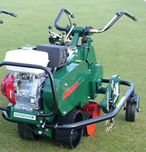 STEP UP TO THE NEW GROUNDSMAN TMC26 TURF CUTTER