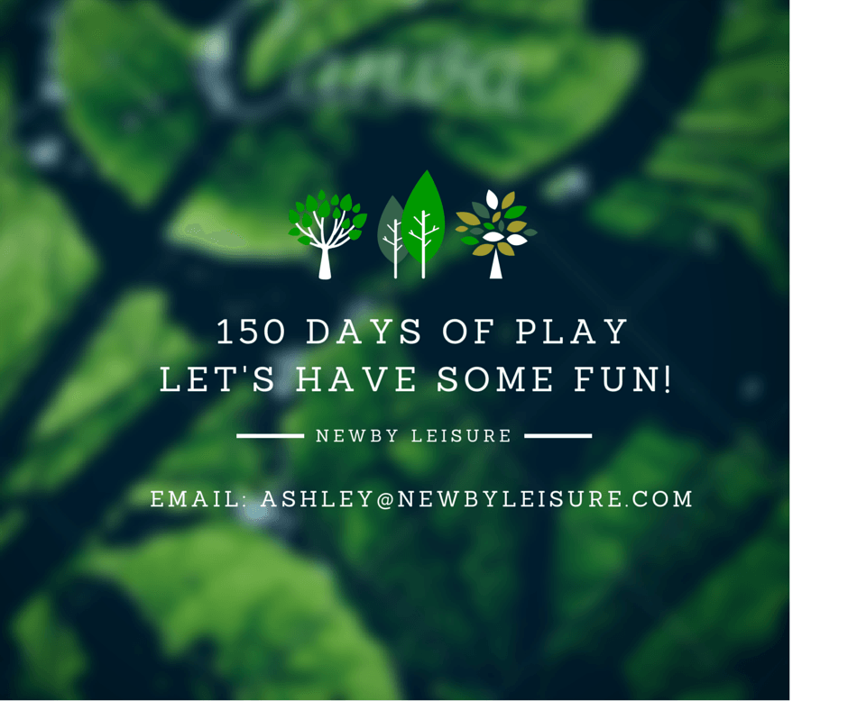 NEWBY LEISURE '150 DAYS OF PLAY' CAMPAIGN.