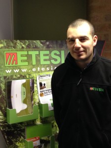 Giovanni Soare joins Etesia UK as after sales assistant.