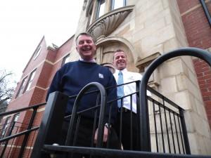 L-R Phil Ball & Mark Sipson at Brook Street