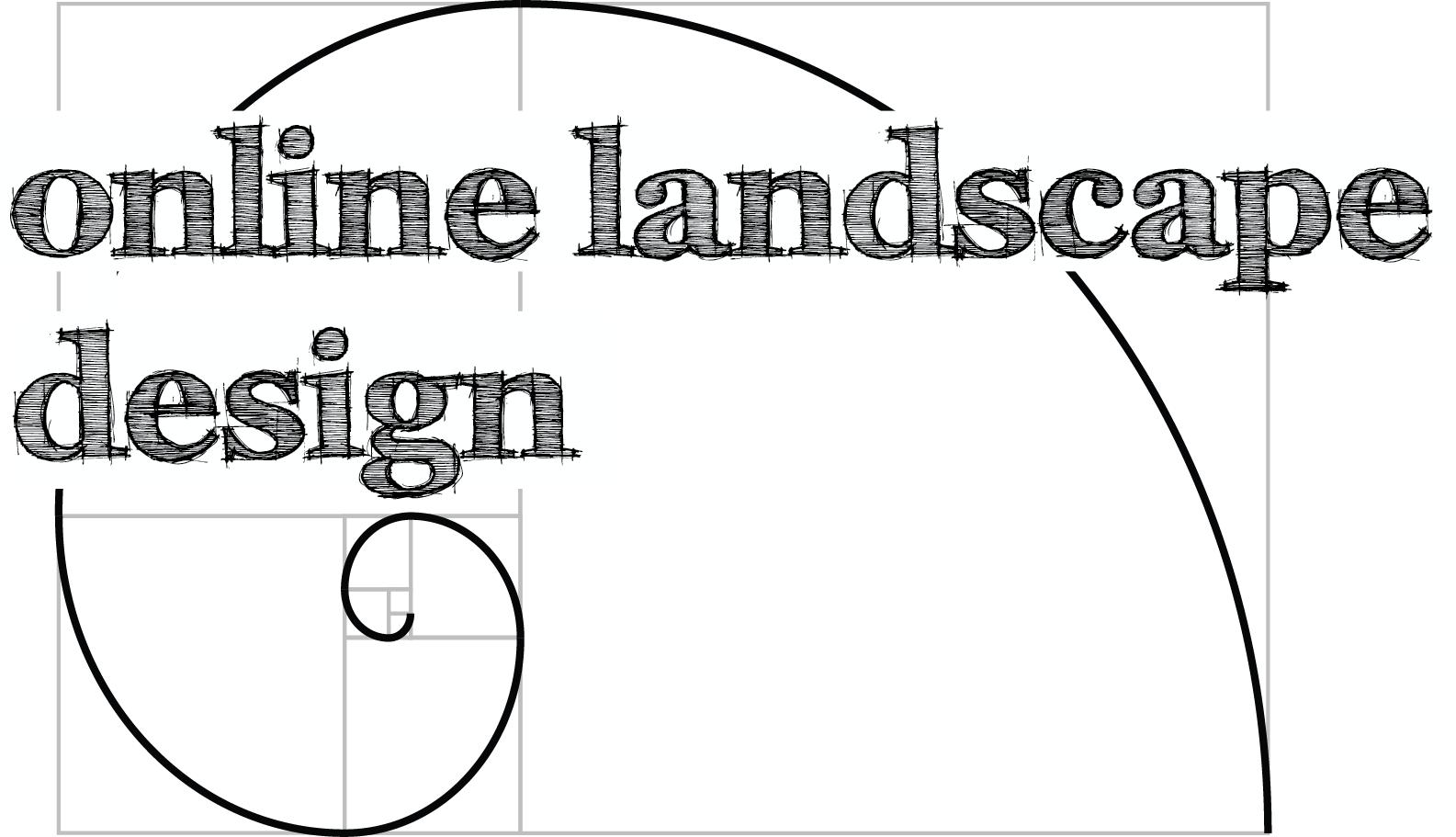 Online Landscape Design Logo