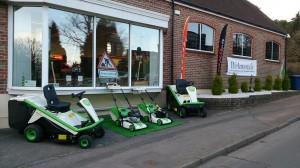 Etesia dealer Richmonds Groundcare opens its new look showroom.
