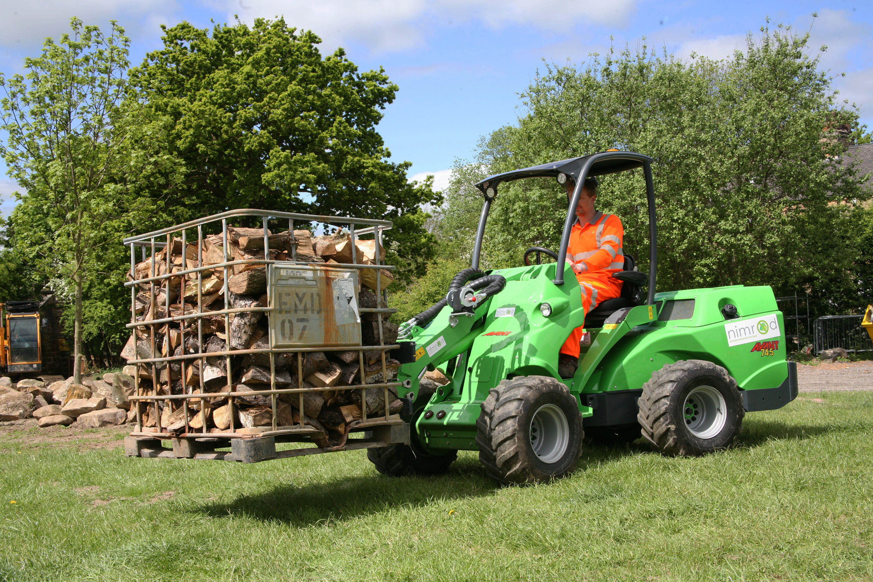 AVANT compact tool carrier is the machine of choice for a Yorkshire based environmental specialist