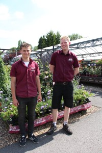 "Squire's ""Grow Our Own"" apprentices Will Challis and Ross Humber"