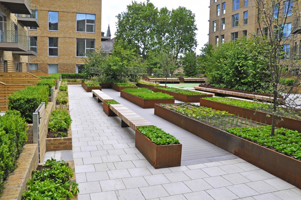 Is this garden the benchmark for urban landscaping ...
