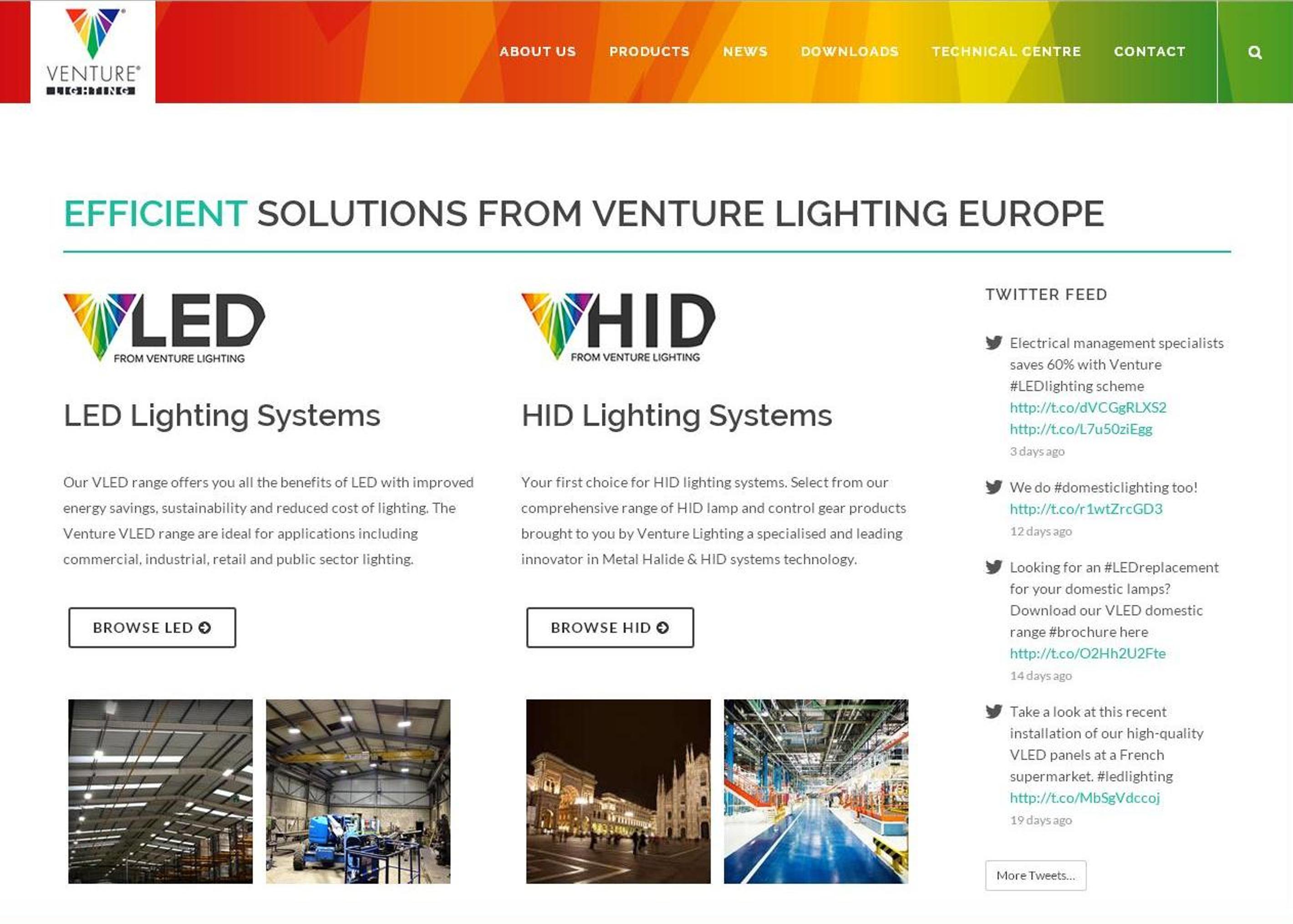 HID Range from Venture Lighting Europe