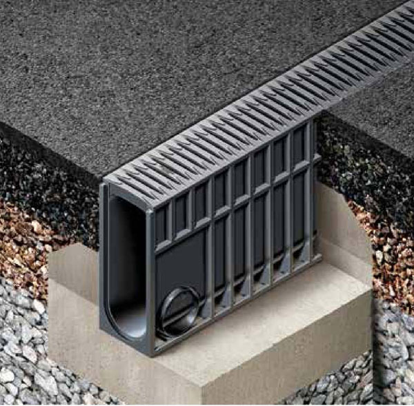 Recyfix®  Monotec  A New Monolithic Drainage System With A High Attenuation Volume
