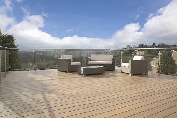 New EasyClean Technology from TimberTech Makes Outdoor Living Maintenance Free!