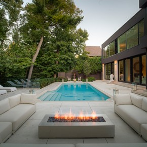 Investing in an outside fireplace