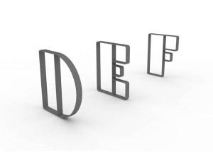 Letterforms-DEF