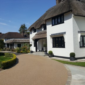 Clearstone resin bound: Elegant driveway that is 'wowing' passers-by