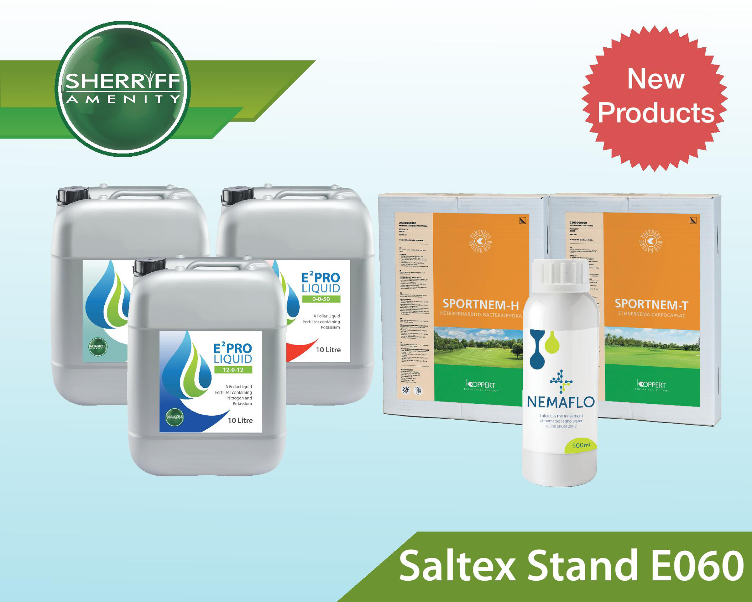 New products, show-offers and Prizes to be won at SALTEX