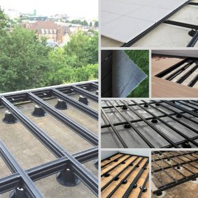 Quick Build Revolutionary Sub-frame System for Decking, Tiles, and Turf