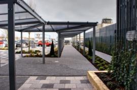 Twinfix walkway installed at  John Lennon Airport