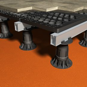 PAVING AND DECKING SUPPORT SYSTEMS FROM RYNO