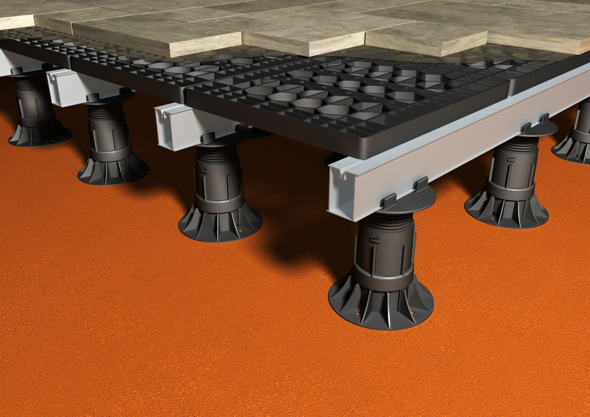 Paving And Decking Support Systems From Ryno Landscape