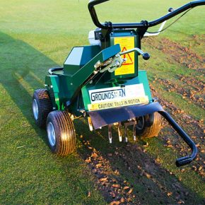 GROUNDSMAN Turf Cutters & Turf Aerators
