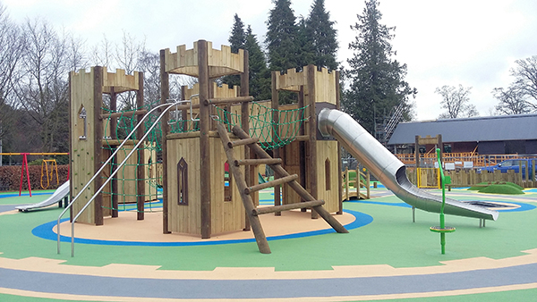 Wicksteed Playgrounds Builds Castle Inspired Playground In