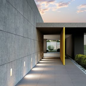 SIMES Luxury Exterior Lighting with a Twist