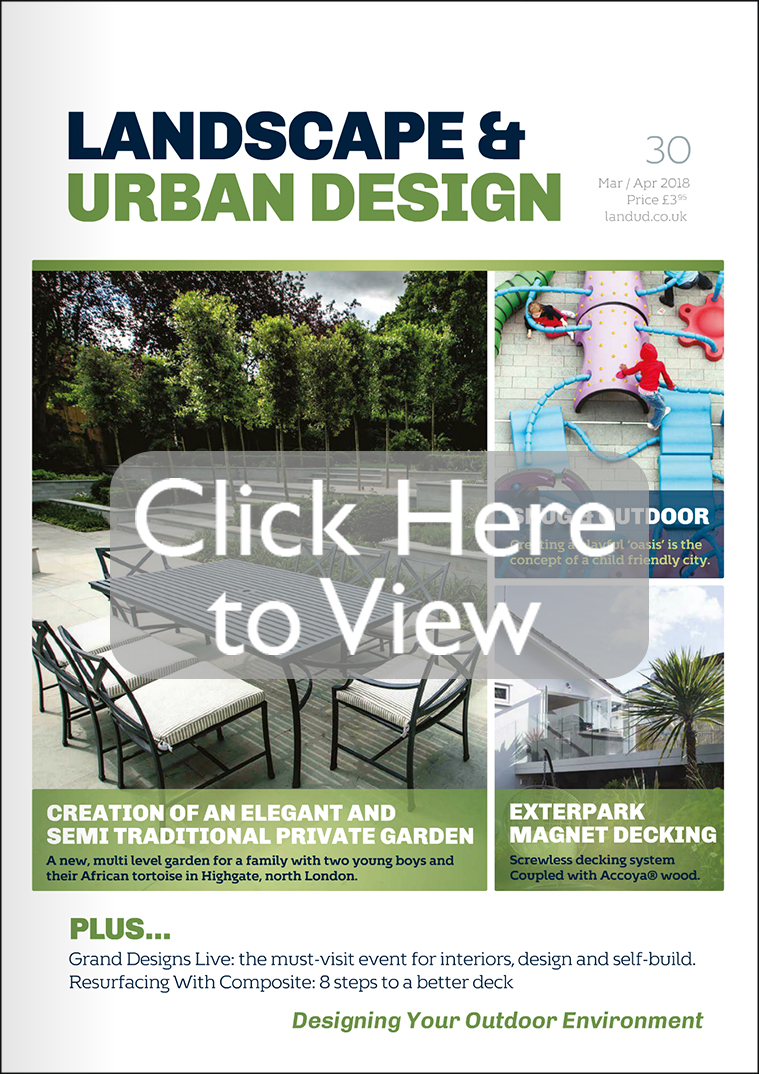 Landscape urban design designing your outdoor environment for Garden design back issues