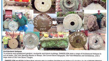 Dandelion Stone Troughs & Architectural Antiques