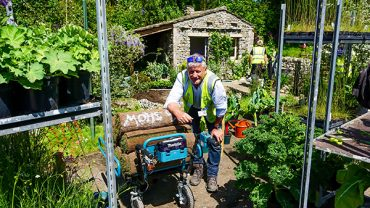 MAKITA'S POWERED WHEELBARROW HELPS LANDFORM CONSULTANTS TO TAKE NOT ONE BUT TWO GOLD MEDALS AT RHS CHELSEA '18