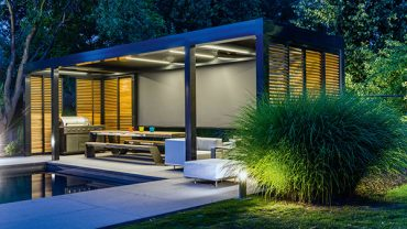 Creating Healthy Spaces with a Shade Zone Louver Blade Canopy