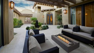 New ranges of outdoor fire tables and fireplaces for 2019