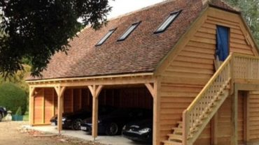 Balconies, Pergolas, Car Barns, Studios … the EASY way!  Green Oak, Douglas Fir, Redwood, Glulam all Hand Crafted for you!