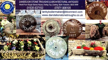 Dandelion stone troughs and architectural antiques