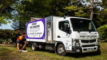 Tree specialist's new FUSO Canter puts the competition in the shade