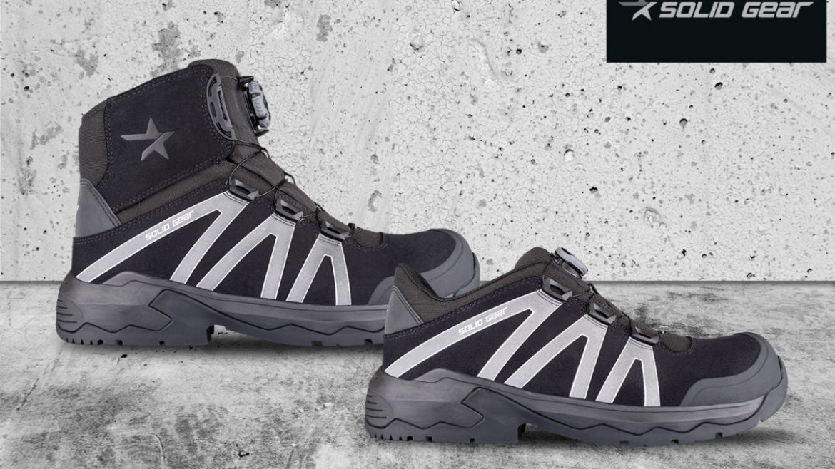 NEW from Solid Gear – the Onyx Safety Shoes and Boots.