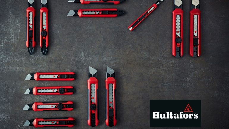Hultafors NEW Range of 'Snap-Off' Knives