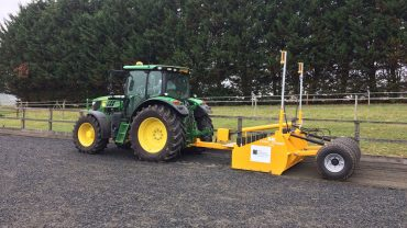BLEC Laser Grader, a winner for Total Equestrian