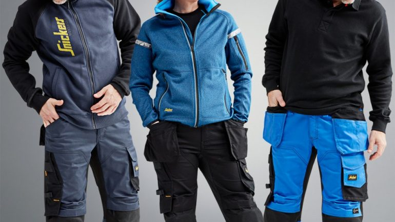 Snickers Workwear's NEW Loose-fit Stretch Trousers for Maximum Mobility On-site
