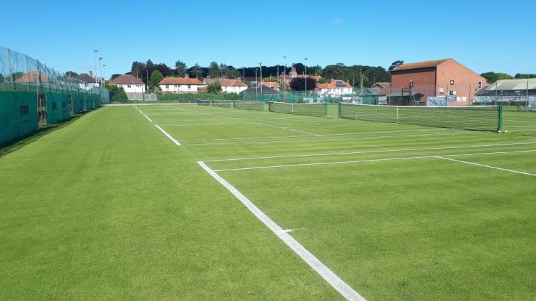 Rigby Taylor Amenity Supplies Court Continued Success At Cromer LTA