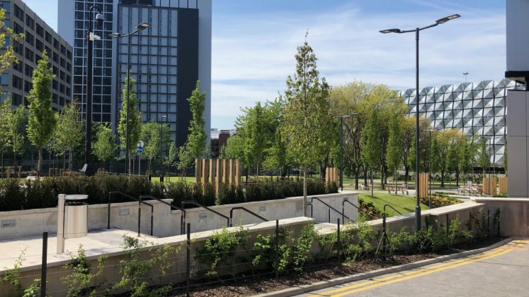Green-tree Rain Garden Filter Medium Helps Project Achieve BREEAM: Excellent Rating