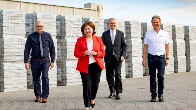 Minister announces 95 jobs and £30million investment by Tobermore